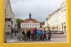 Tõukerattaseiklus Tartu linnas